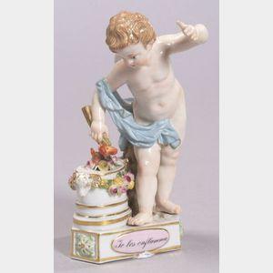 Meissen Porcelain Motto Figure