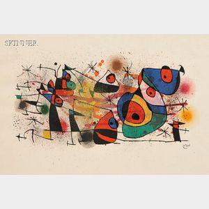 Joan Miró (Spanish, 1893-1983)      Céramiques
