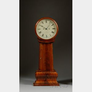 Mahogany Shelf Tavern Clock Attributed to J. N. Dunning