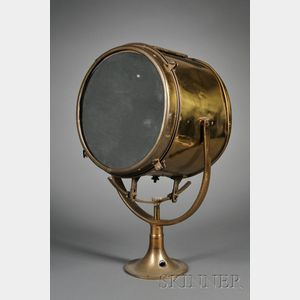 Brass Ship's Search Light