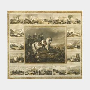 Emile Rouargue, engraver (French, c. 1795-1865)  Napoleon a la Bataille d'Austerlitz, le 2 Decembre 1805