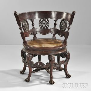Dutch Colonial Burgermeister Chair