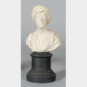 Turner White Stoneware Bust of Prior