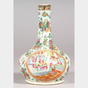 Rose Medallion Porcelain Water Bottle