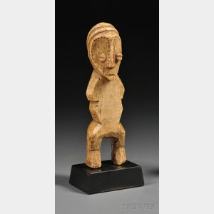 African Carved Ivory Figure