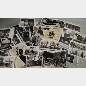Approximately Sixty-four Duke Ellington and Orchestra   Photographs Related to the 1960s Tour of India, Pakistan, and Ceylon