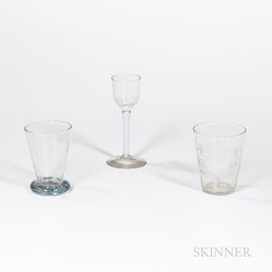 Three Early Drinking Vessels
