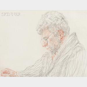 Avigdor Arikha (French/Israeli, 1929-2010)      R.B. Kitaj