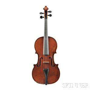 French Violin, D. Nicolas, Mirecourt