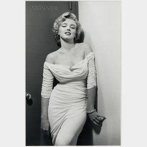 Philippe Halsman (American, 1906-1979)      Marilyn Monroe, Life Magazine Cover   (Variant)