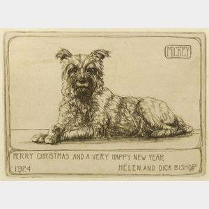Richard Evett Bishop (America, 1887-1975)  Mickey/