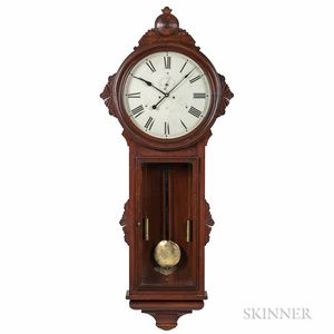 "Ansonia ""General"" Regulator Wall Clock"