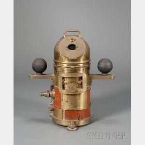Brass Binnacle Compass