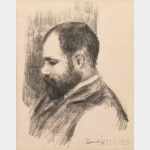 Pierre-Auguste Renoir (French, 1841-1919)      Ambroise Vollard