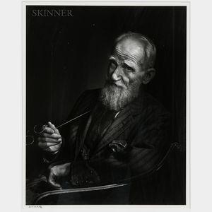 Yousuf Karsh (Canadian, 1908-2002)      George Bernard Shaw