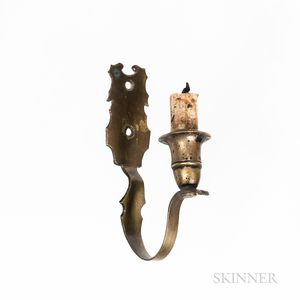 Small Brass Wall Sconce