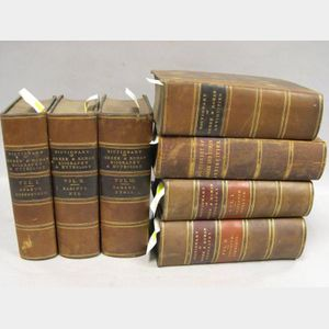 Five Volumes Relating to Greek and Roman Biography and Mythology