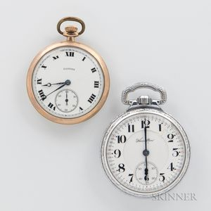 "Two Hamilton Watch Co. ""Loaner"" Watches"