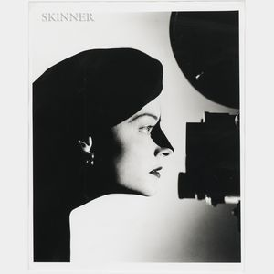 Matthew Rolston (American, b. 1955)      Jodie Foster, Profile with Camera, Los Angeles