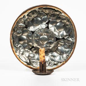 Tin Reflector Sconce