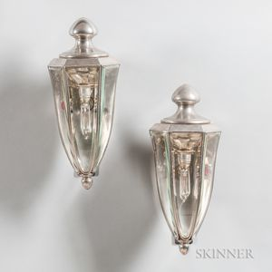 Pair of 1910 Pierce Arrow Coach Lamps