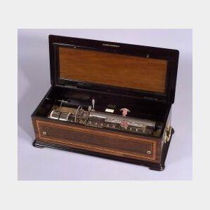 Ten Air Musical Box By Mermond Freres