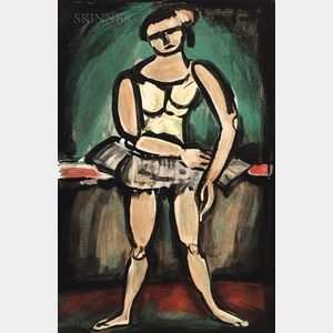 Georges Rouault (French, 1871-1958)      Ballerine