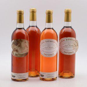 Chateau Raymond Lafon 1983, 4 bottles