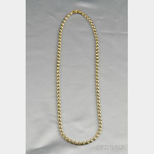 18kt Bicolor Gold Chain, Chimento