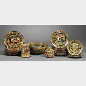 Arts & Crafts Buffalo Pottery Deldare Ware