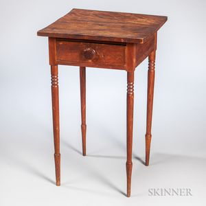 Birch One-drawer Stand