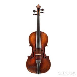 German Violin, Heinrich Th. Heberlein, Jr., Markneukirchen, 1924