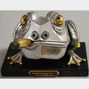 Frank Meisler (Israeli, b. 1929)      Frog Box