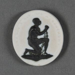 Wedgwood White Jasper Slave Medallion