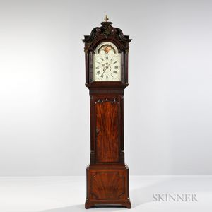James Butler Mahogany Longcase Clock