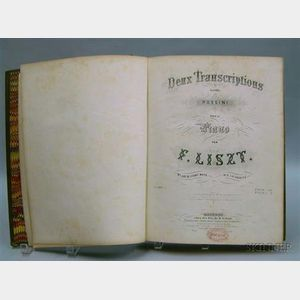 Italy Illustrated   and Deux Transcriptions d'apres Rossini pour le Piano,   F. Liszt