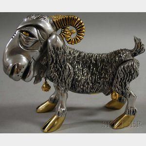 Frank Meisler (Israeli, b. 1929)      Ephraim the Ram