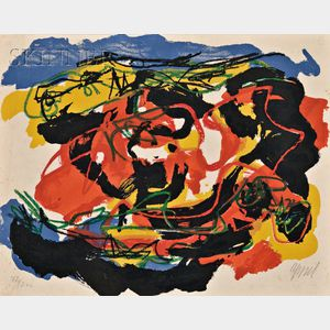 Karel Appel (Dutch, 1921-2006)      Untitled (Abstract)