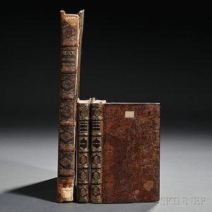 Bizot, Pierre (1630-1696) Histoire Metallique de la Republique de Hollande  , Two Editions in Three Volumes.