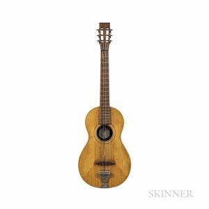 William B. Tilton No. 1 Parlor Guitar, c. 1880