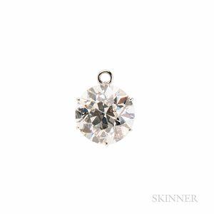 Dreicer & Co. Platinum and Diamond Pendant Drop
