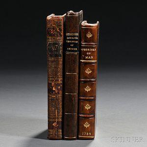 Blake, William (1757-1827) Three Illustrated Works.
