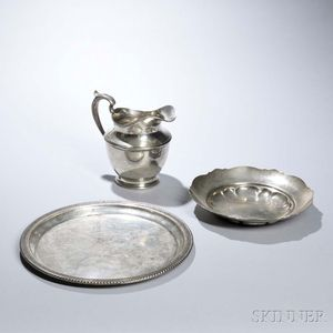 Three Pieces of American Sterling Silver Tableware