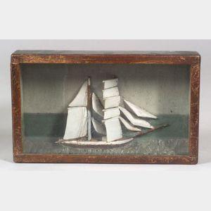 Small Ship Diorama