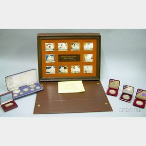Group of Sterling Silver Commemorative Coins