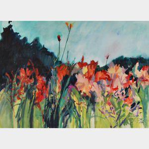 Gracia Dayton (American, 20th Century)      Tiger Lilies