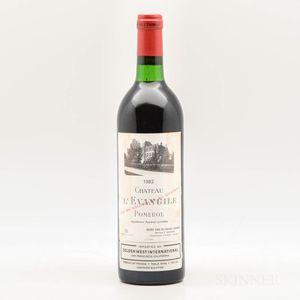 Chateau LEvangile 1982, 1 bottle