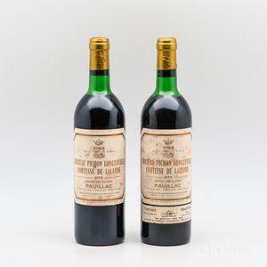 Chateau Pichon Lalande 1979, 2 bottles