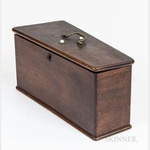Mahogany Bugle Box