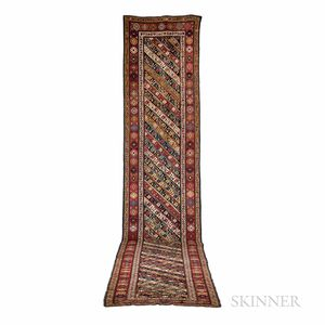 Antique Karabagh Long Rug